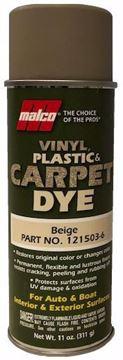 Image de Teinture MALCO pour vinyle, plastique et tapis : BEIGE      11 oz