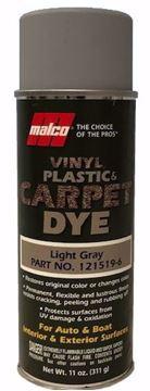 Image de Teinture MALCO pour vinyle, plastique et tapis: Silver Metallic  11oz