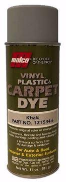 Image de Teinture MALCO pour vinyle, plastique et tapis :  Khaki 11 oz