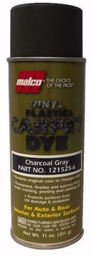 Image de Teinture MALCO pour vinyle, plastique et tapis :  Darck Grey 11 oz