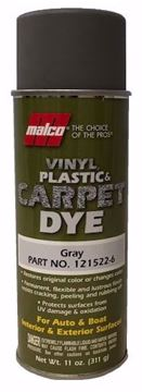 Image de Teinture MALCO pour vinyle, plastique et tapis :  Gray Dye 11 oz