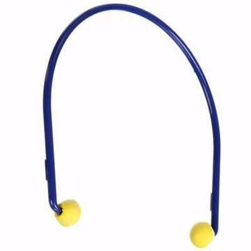 Image de Protections auditives 3M ™ EAR ™ Caps modèle 200, 321-2101, bleu / jaune, 100 paires par étui