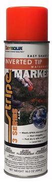 Image de Peinture marqueur à pointe inversée orange fluorescent Seymour 20 oz