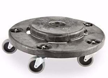 Image de Socles roulant pour poubelles Rubbermaid