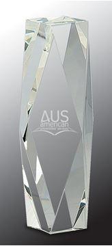 Image de Trophée  - Cristal  avec top Incliné