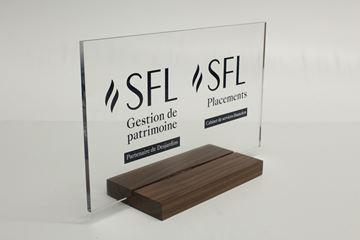 Image de Sur mesure - Trophée Acrylique -  Présentoir