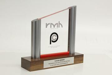Image de Sur mesure - Trophée Acrylique  et métal -  RMH