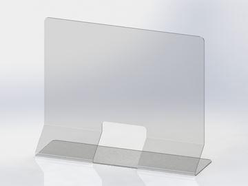 Image de Covid - Panneau en acrylique plié - fab40