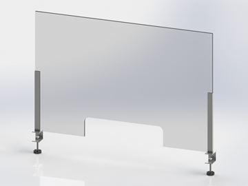 Image de Covid - Panneau en acrylique  avec supports-fab10