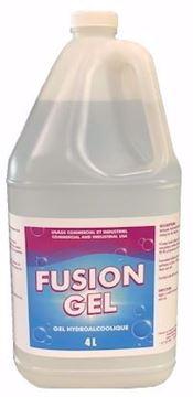 Image de Fusion gel antibactérien 4 litres semi-liquide sans parfum à base d'alcool