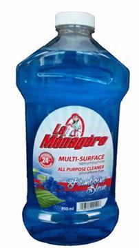 Image de La Ménagère nettoyant tout usage framboise bleu 950 ml sans phosphate