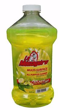 Image de La Ménagère nettoyant tout usage  lime jaune  950 ml sans phosphate