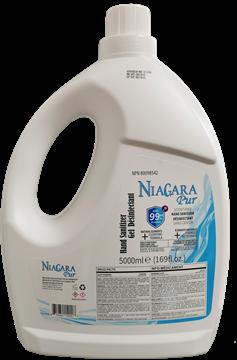 Image de Niagara gel pour les mains antibactériens, sans odeur 5 litres